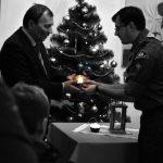 передача Віфлиємського вогню меру Ужгорода