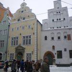 """найстаріші житлові будівлі Риги - """"Три брати"""""""