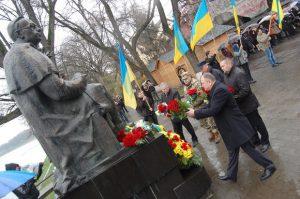 Вшанування Карпатської України в Ужгороді